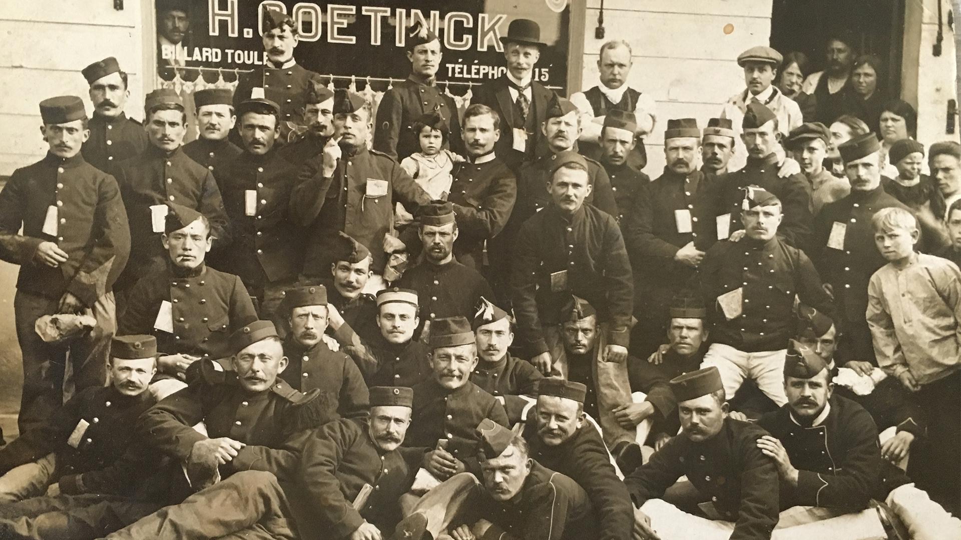 Hector 'Torten' Goetinck, de voetballende soldaat