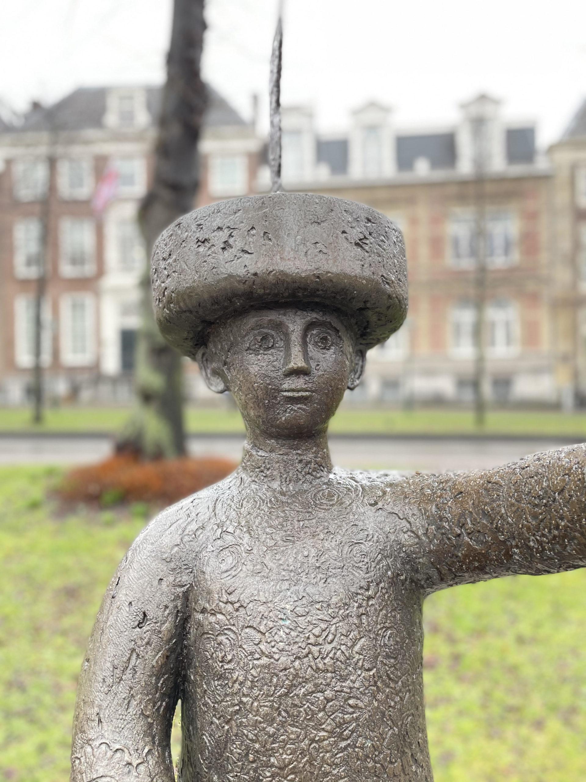 Haagsch Jantje beeld hofvijver